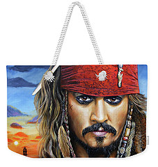Captain Jack Weekender Tote Bag