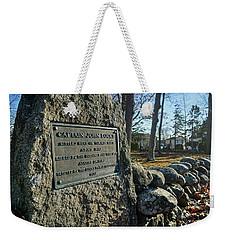 Captain John Locke Monument  Weekender Tote Bag