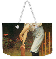 Captain Of The Eleven Weekender Tote Bag