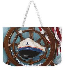 Captain's Home Weekender Tote Bag