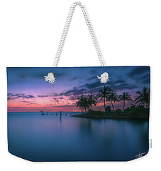 Weekender Tote Bag featuring the photograph Captiva Sunset by Francisco Gomez