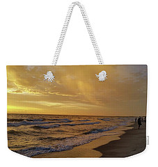 Captiva Sunset Watchers Weekender Tote Bag