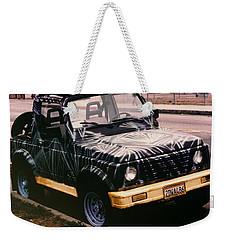 Car Art Weekender Tote Bag