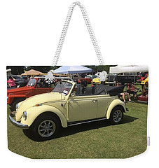 Weekender Tote Bag featuring the photograph Car Show by Aaron Martens