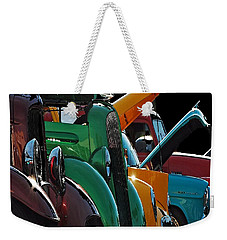 Car Show V Weekender Tote Bag by Robert Meanor