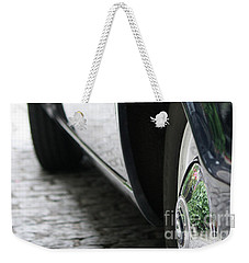 Weekender Tote Bag featuring the photograph Car Sideview by Mary-Lee Sanders