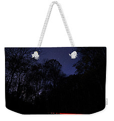Car Trails Weekender Tote Bag
