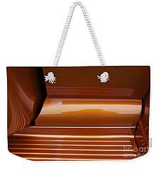 Caramel Abstract Weekender Tote Bag