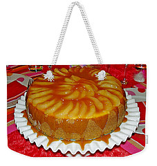 Caramel Apple Cheesecake Valentine Weekender Tote Bag
