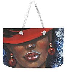 Carbaret Red Weekender Tote Bag