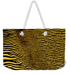 Interlaced Lines Weekender Tote Bag