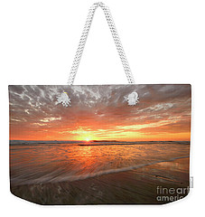 Weekender Tote Bag featuring the photograph Cardiff Starburst by John F Tsumas