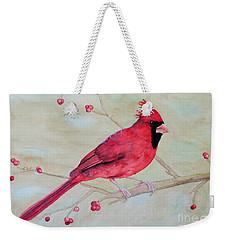 Cardinal II Weekender Tote Bag