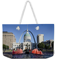 Cardinal Nation Weekender Tote Bag by Andrea Silies