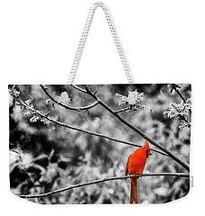 Cardinal... Weekender Tote Bag
