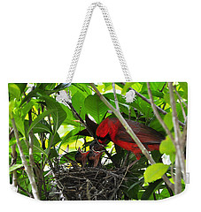 Cardinals Chowtime Weekender Tote Bag