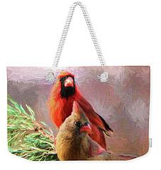 Cardinals2 Weekender Tote Bag