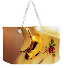 Care For Some Tea Weekender Tote Bag by Nancy Marie Ricketts