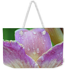 Innocence Of The Lily Weekender Tote Bag