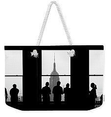 Careful Observation Weekender Tote Bag