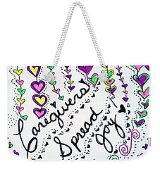 Caregivers Spread Joy Weekender Tote Bag