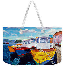 Carenage Scene 1 Weekender Tote Bag