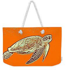 Caretta Caretta Sea Turtle Weekender Tote Bag