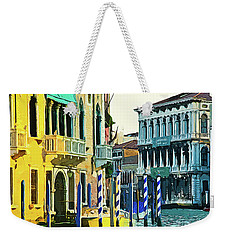 Weekender Tote Bag featuring the photograph Ca'rezzonico Museum by Tom Cameron