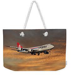 Cargolux Boeing 747-8r7 3 Weekender Tote Bag