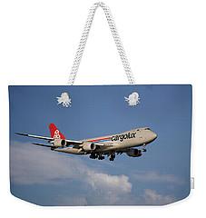 Cargolux Boeing 747-8r7 4 Weekender Tote Bag