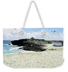Caribbean Beach Scenic Weekender Tote Bag by Rosalie Scanlon