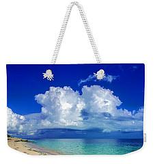 Caribbean Clouds Weekender Tote Bag