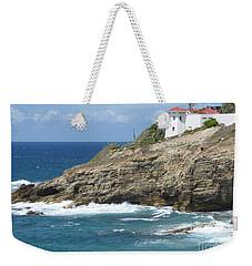 Caribbean Coastal Villa Weekender Tote Bag by Margaret Brooks