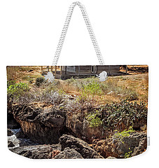 Weekender Tote Bag featuring the photograph Caribbean Coastline Cuba by Joan Carroll