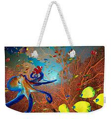 Caribbean Coral Reef Weekender Tote Bag