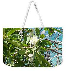 Caribbean Honeysuckle Weekender Tote Bag by Margaret Brooks