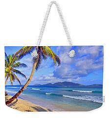 Caribbean Paradise Weekender Tote Bag