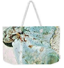 Caribbean Reef Octopus - Eyes Of The Deep Weekender Tote Bag by Amy McDaniel