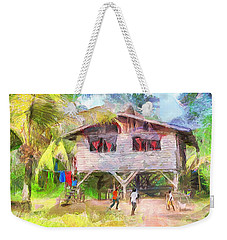 Caribbean Scenes - Country House Weekender Tote Bag