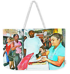Caribbean Scenes - Doubles Vendor Weekender Tote Bag