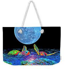 Caribbean Tropical Night Weekender Tote Bag