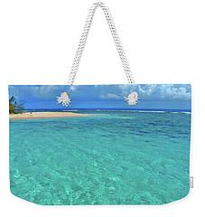 Caribbean Water Weekender Tote Bag