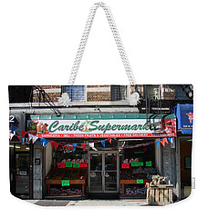 Caribe Supermarket Weekender Tote Bag by Cole Thompson