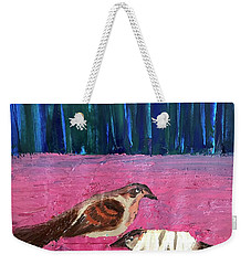 These Broken Wings Weekender Tote Bag