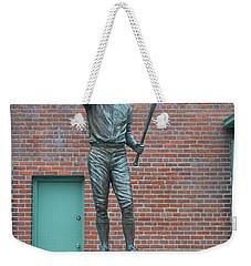 Carl Yastrzemski - Fenway Park Weekender Tote Bag by Bill Cannon