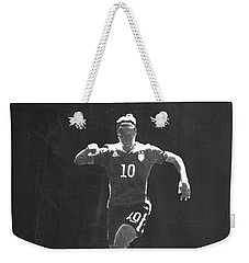 Carli Lloyd Weekender Tote Bag by Semih Yurdabak