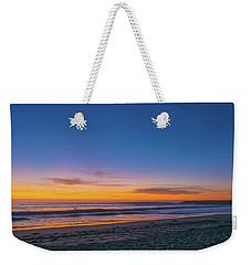 Carlsbad Jetty Sunset Weekender Tote Bag