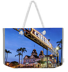 Carlsbad Welcome Sign Weekender Tote Bag