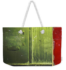 Carlton 6 - Firedoor Abstract Weekender Tote Bag