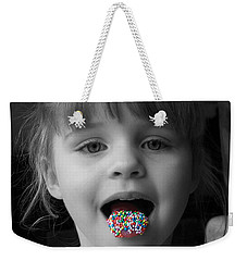 Carly With Hundreds And Thousands Weekender Tote Bag